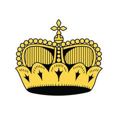 symbol of Liechtenstein, vector illustration