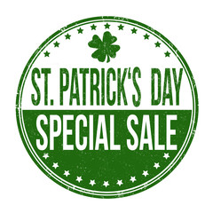St. Patrick's Day special sale stamp