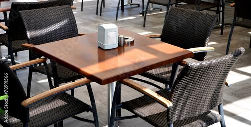 Papiers peints Table preparee Outdoor