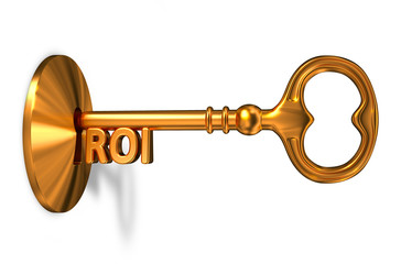 ROI - Golden Key is Inserted into the Keyhole.