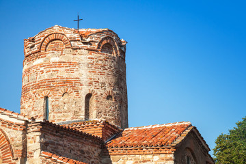 Church of St. John the Baptist in old Nesebar, Bulgaria