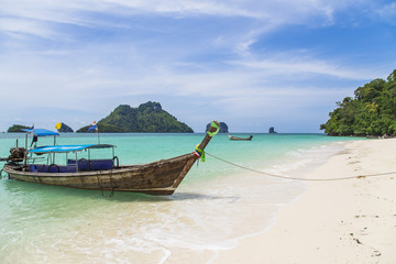 Boat in Thailand Island