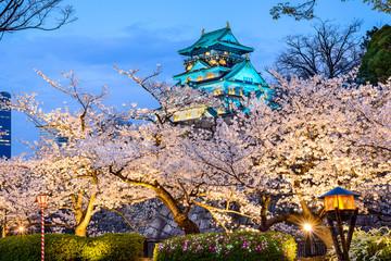 Osaka, Japan at Osaka Castle
