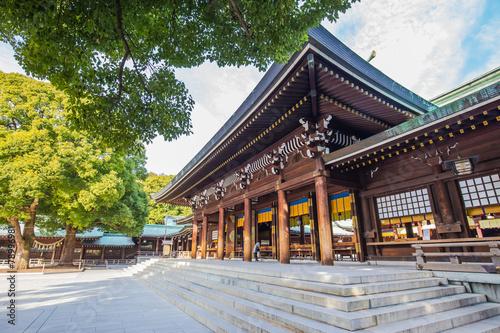 Fototapeta Meiji-jingu Shrine in Tokyo, Japan