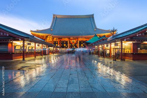 Papiers peints Tokyo Sensoji Temple in Asakusa, Japan