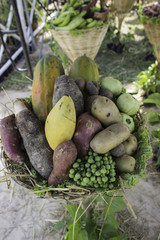 Fruits, vegetables and herbs, Thailand