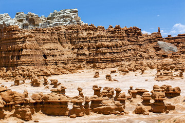 Blue Mountain Hoodoos Goblin Valley State Park Utah