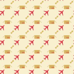 plane and sending pattern