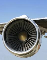 urbine blades jet engine aircraft