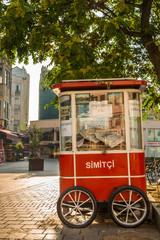 Simit Vendor