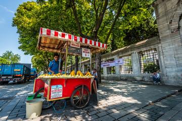 Street food in Sultanahmet