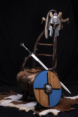 Viking throne