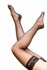 Beautiful woman's legs - closeup shot