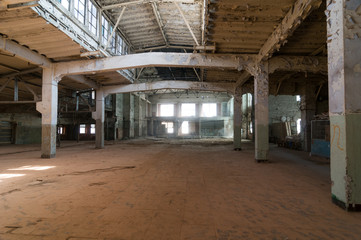 Deserted warehouse
