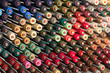 Reels with colorful threads - 79007975