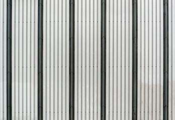 Black and grey corrugated metal texture