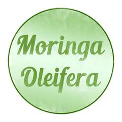 bg75 ButtonGrafik - moringa oleifera  - Kreideeffekt - g3310