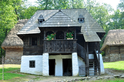 Valokuva sibiu ethno museum house