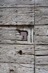 porta antica di legno