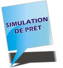 bouton simulation de prêt