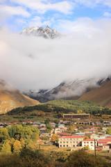 Stepantsminda (Kazbegi) town
