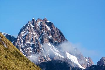 Mountain Peak Near Huaraz, Peru