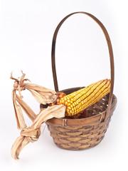 corn in a basket