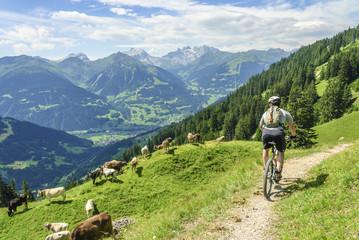 Biketour im Hochgebirge