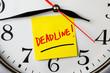 deadline concept - 79015788