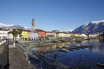 Ascona (Schweiz) - Bucht von Ascona