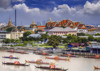 Landscape of Thai's king palace