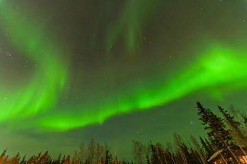 オーロラ カナダ イエローナイフ northern light canada