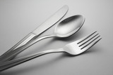 Fototapety spoon, knife and fork