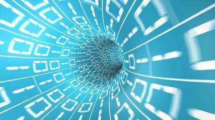 Digital tunnel loop