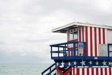 Lifeguard station, Miami beach