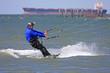 kitesurfer in Chesapeake bay