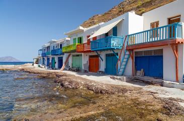 Klima fishing village, Milos island, Cyclades, Greece