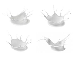 milk splash bottle drop white liquid