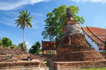 Wat Phra Si Sanphet ruins, Ayutthaya, Thailand.