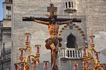 Imaginería de la Semana Santa, Sevilla, Cristo de la Sed