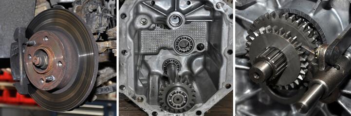 kfz werkstatt, bremse, getriebe