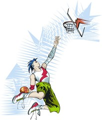basketball_slam dunk