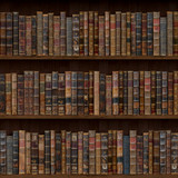 Fototapety Books seamless texture. tiled with other  textures in my gallery