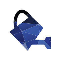 watering can icon Abstract Triangle