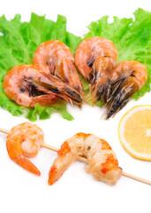 Shrimps close up