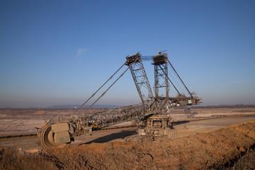 Tagebau Schaufelbagger