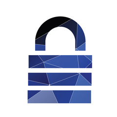 lock icon Abstract Triangle