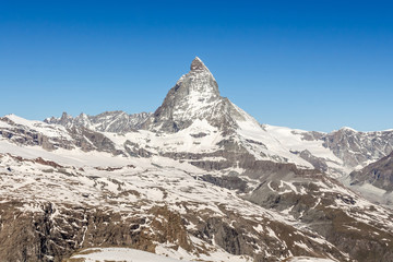 mountain Matterhorn, Zermatt, Switzerland