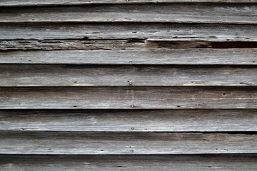 Rustic Bare Clapboard Wood Siding - Background