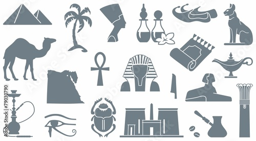 Egyptian symbols - 79030790